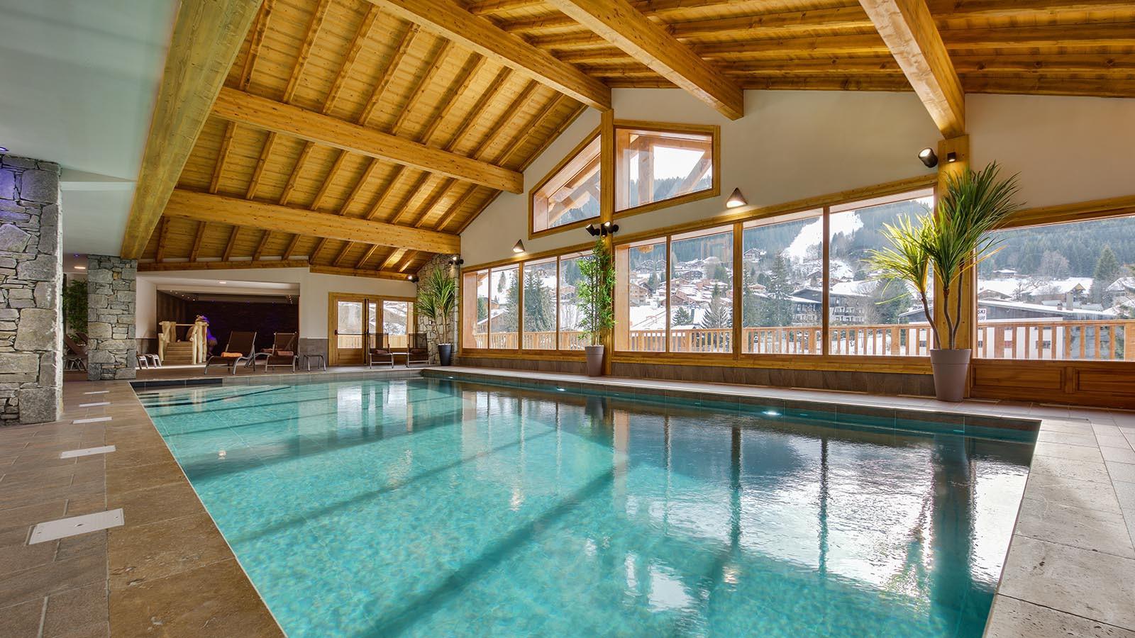 Swimming pool at CGH Apartment Leana