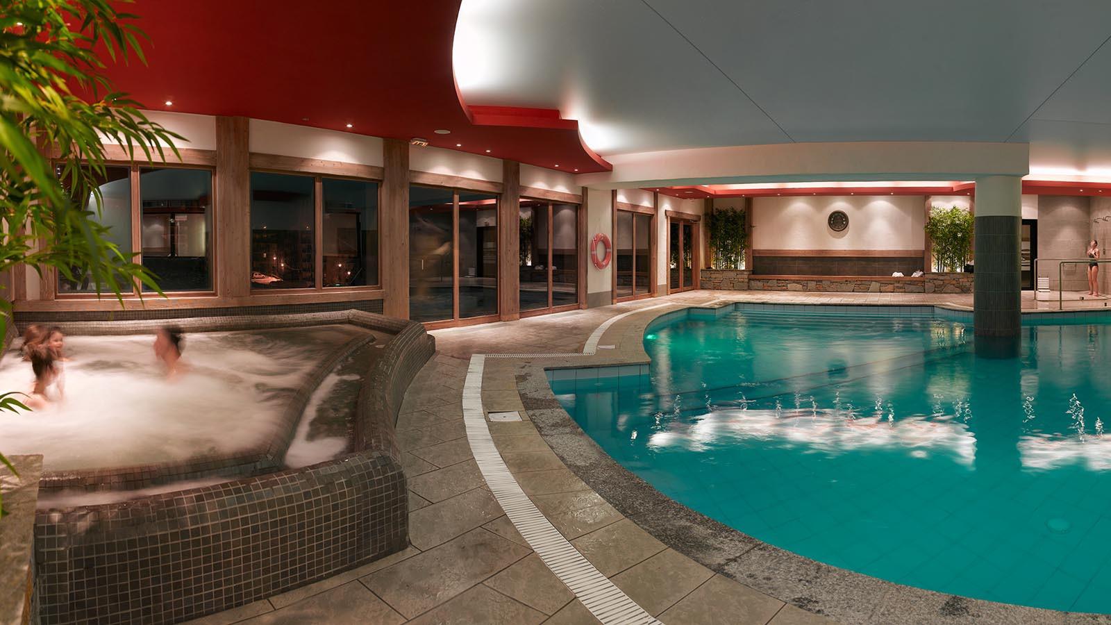 Swimming pool at CGH Les Clarines