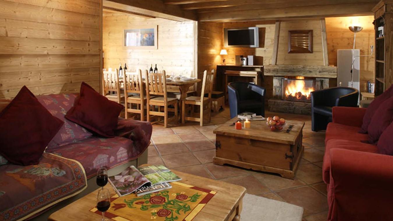 Chalet Tetra lounge, Les Arcs