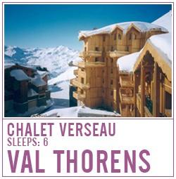 Chalet Verseau, Val Thorens