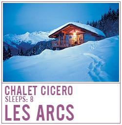 Chalet Cicero, Les Arcs
