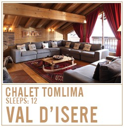 chalet tomlima, val d-isere