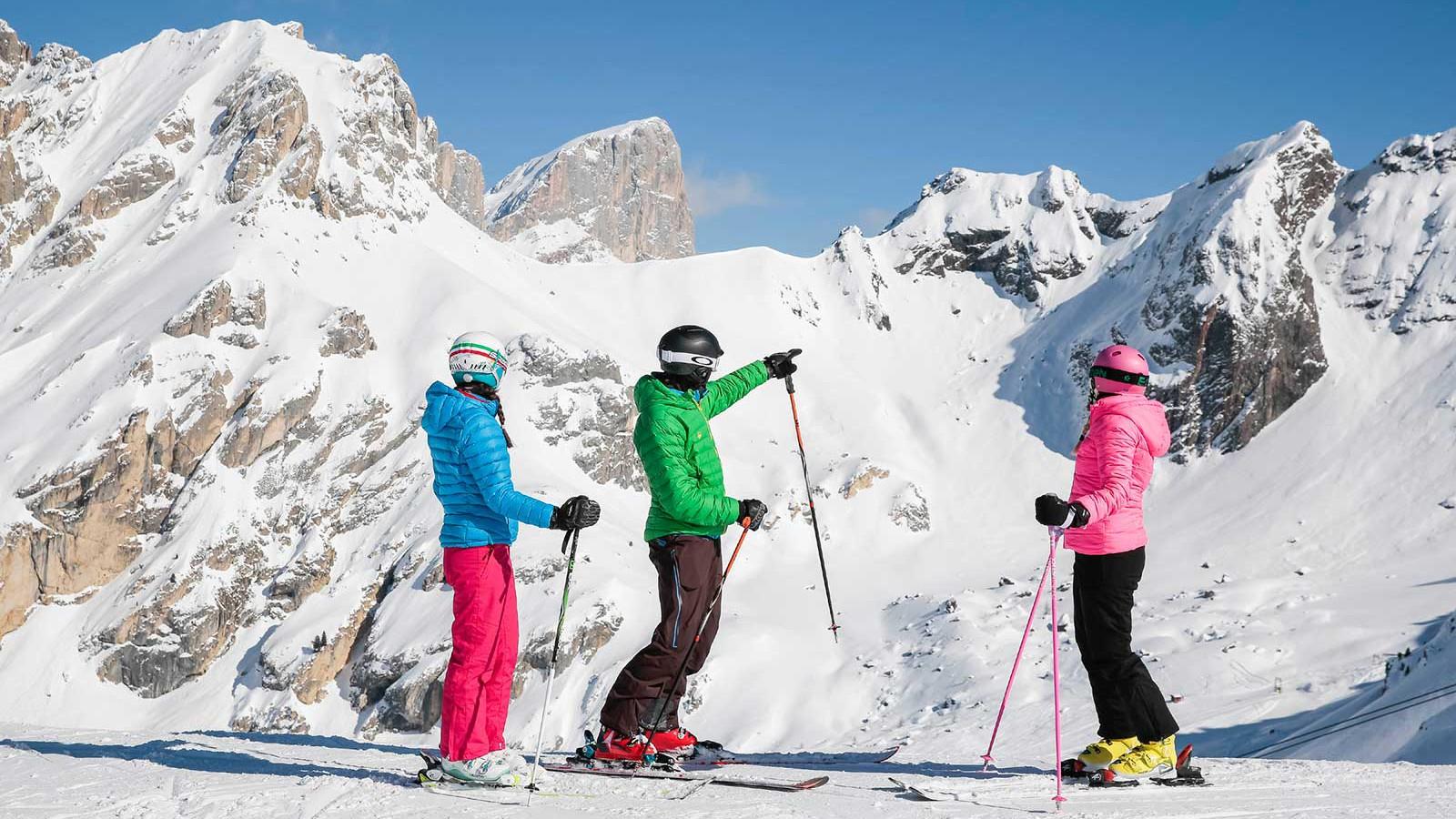 Val di Fassa people and mountains - ©Federico Modica