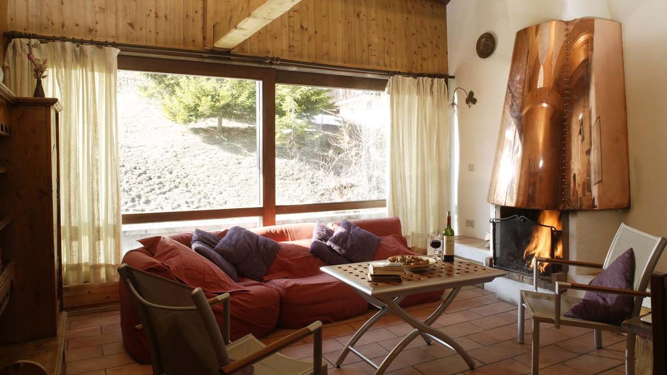 Chalet Val Rogoney lounge, Val D'Isere