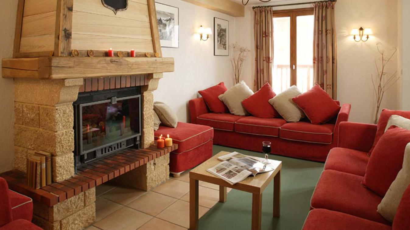 Chalet Valerie lounge, Tignes