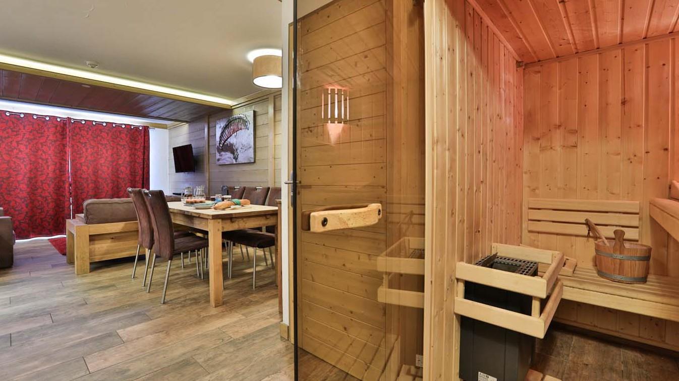 Sauna, Chalet Violetta, Tignes, France