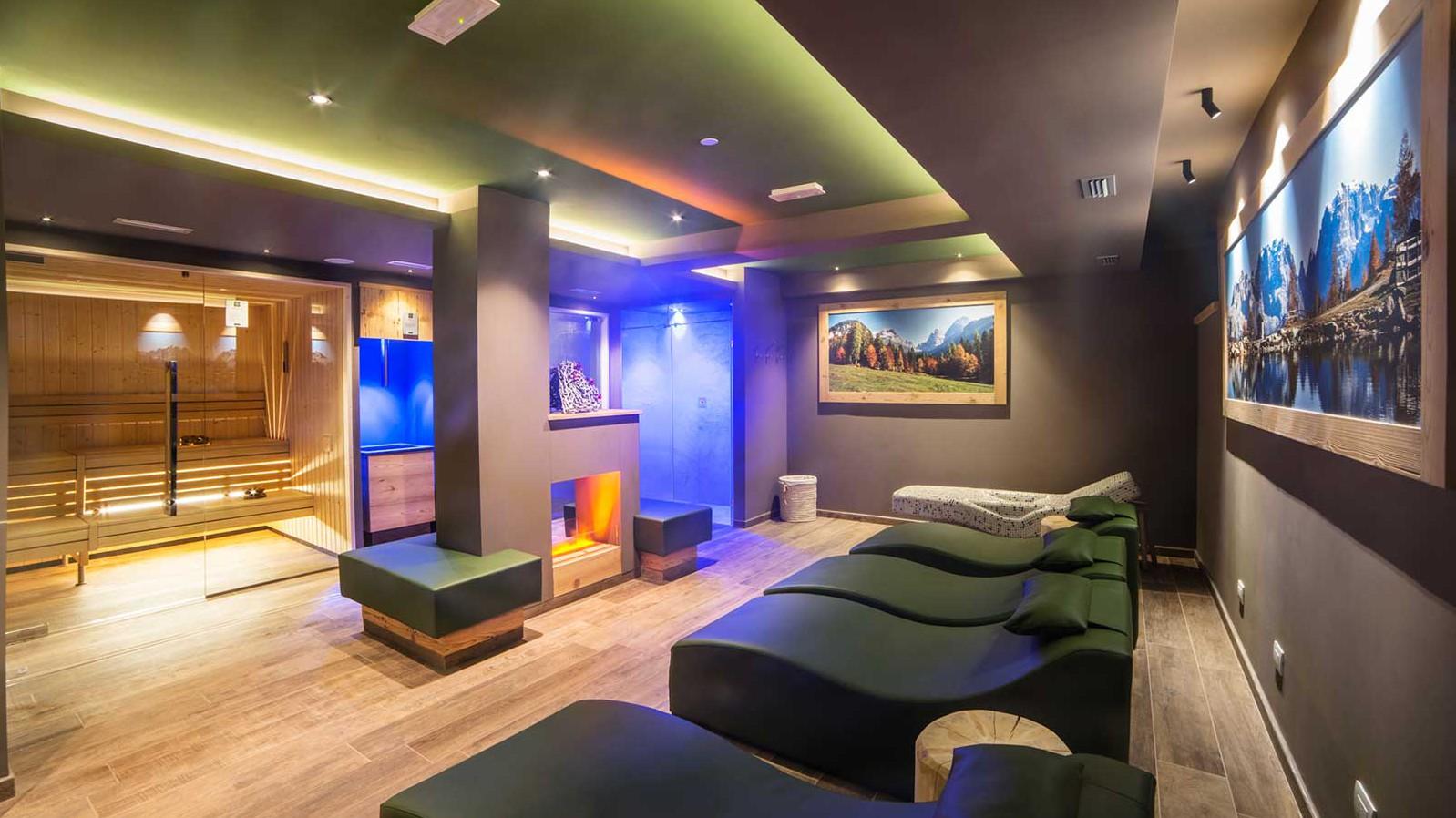 Wellness - Hotel Cime d'Oro, Madonna di Campiglio