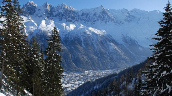 Chamonix Mont Blanc, France, Resort in the Valley