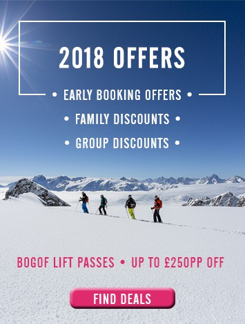 Ski Holidays 2018 - Early Booking Offers