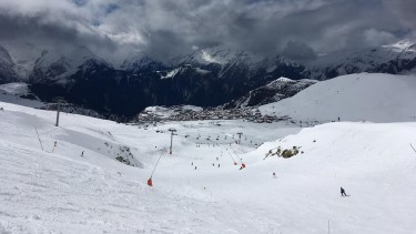 ski conditions in Alpe d Huez