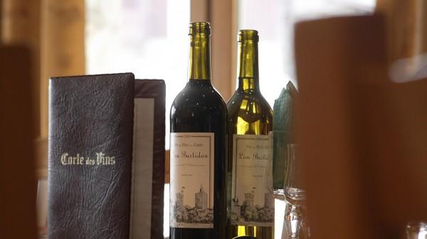 Wine in Ski Lodge Aigle, Tignes, France