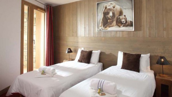 Twin Room In Chalet Alfredo, Tignes, France