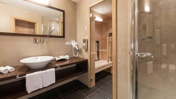 Alpenheim Charming Hotel - Wellness suite - bathroom