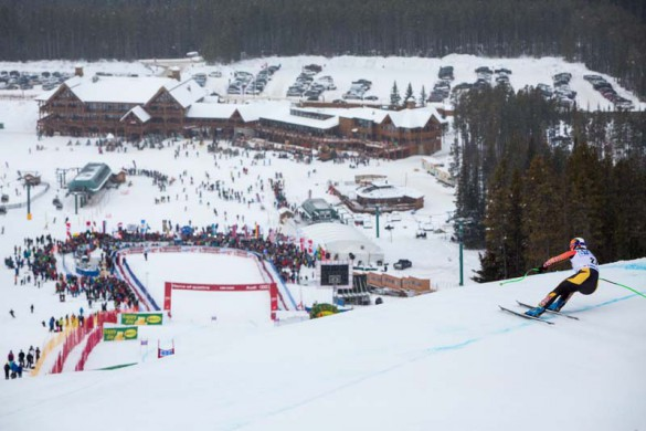 Alpine World Cup Skiing, Lake Louise, Canada