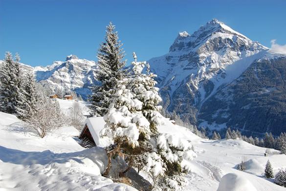 Andermatt ski resort switzerland