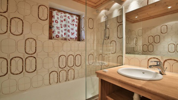 Bathroom, Chalet Andre - ski chalet in Meribel, France