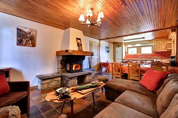 Lounge, Chalet Andre - ski chalet in Meribel, France