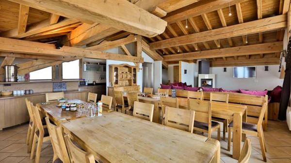 Dining Area, Chalet Annapurna II, Tignes, France