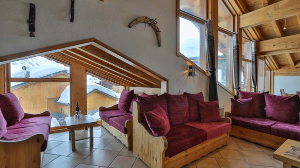 Living Area, Chalet Annapurna II, Tignes, France
