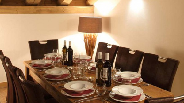 Dining Room In Chalet Annina, Tignes, France