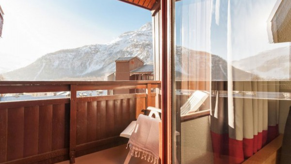 Balcony, Residence La Daille, Val d'Isere, France