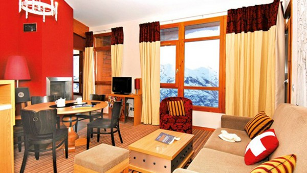 Apartment Interior, Edenarc Apartments, Les Arcs, France