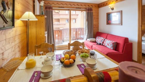 Apartment Interior, Les Alpages de Reberty, Les Menuires, France