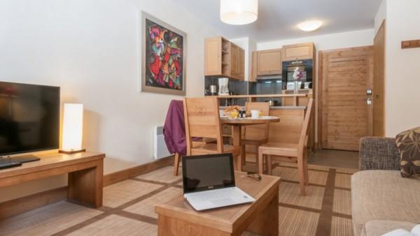 Apartment Interior, Residence Les Terraces d'Eos, Flaine, France