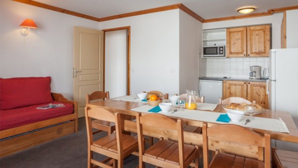 Apartment Interior, Residence Les Valmonts, Les Menuires, France