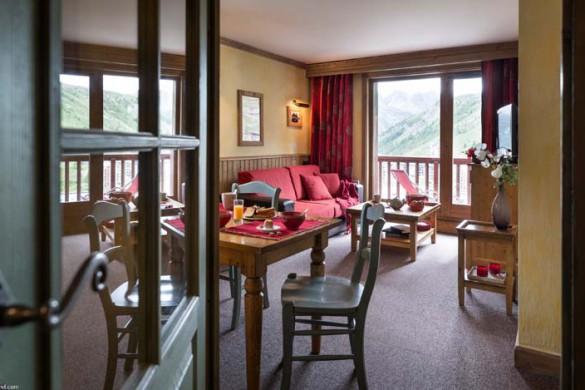Apartment interior of Village Montana - Self-catered ski apartment in Tignes, France