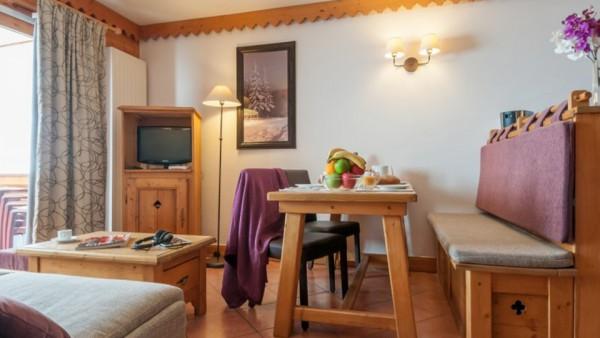 Apartment Interior, Residence Les Hauts Bois, La Plagne, France