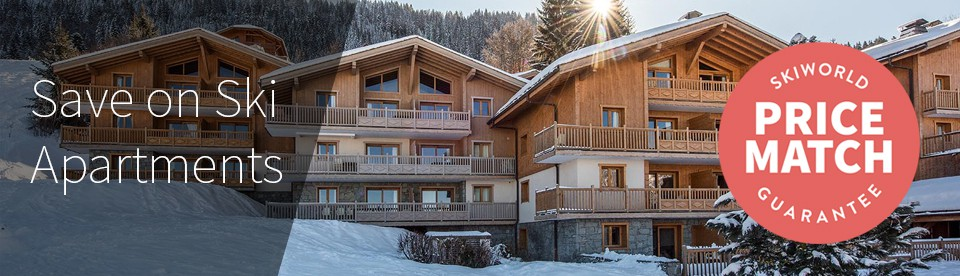 Save on self-catered ski apartments