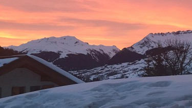 ski conditions in Les Arcs and Peisey