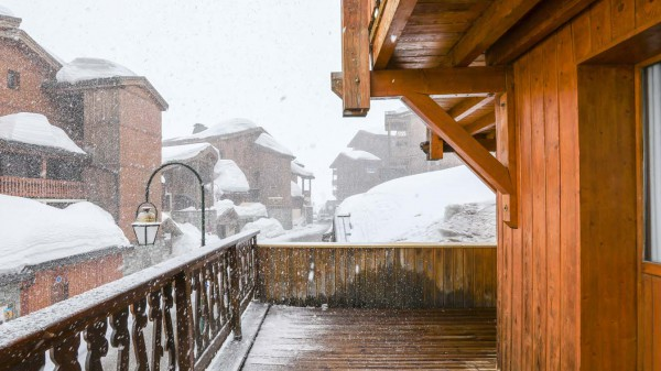 Balcony, Chalet Aries, Val Thorens, France
