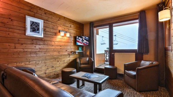 Living Area, Chalet Aries, Val Thorens, France