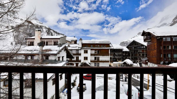 View From Chalet Arsellaz, Val d'Isere, France