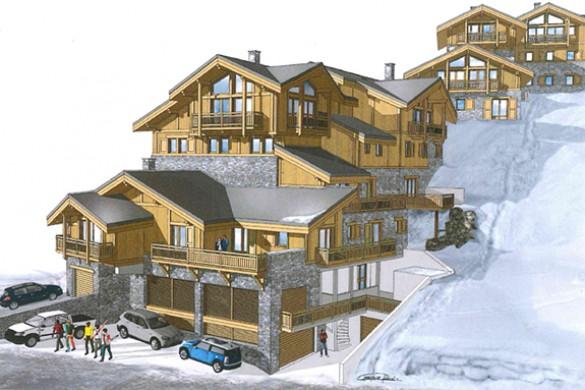Chalet Campanula - Ski Chalet in La Plagne, France