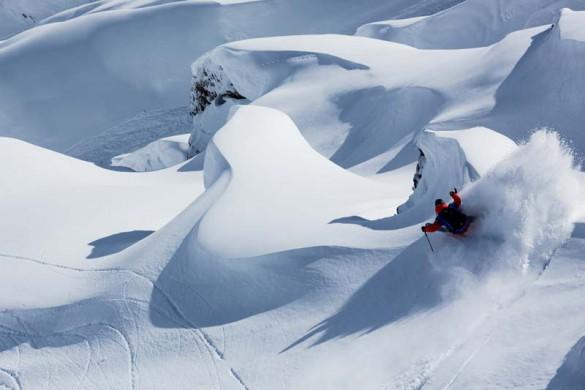 Back Country Skiing, Zermatt, Switzerland