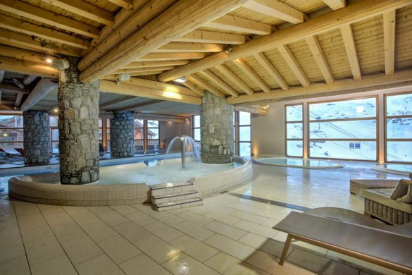 Chalet Peche, Val Thorens, France, Pool in Complex