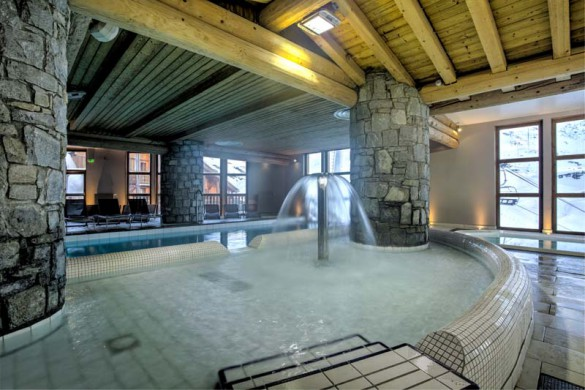 Chalet Clementine, Val Thorens, France, Shared Pool