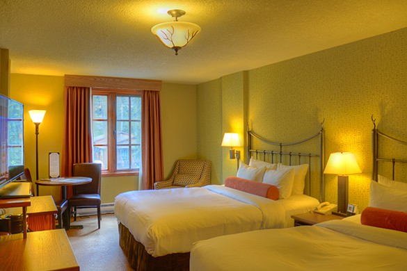 Banff Caribou Superior with 2 Queen Room
