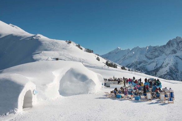 Bar on the Slopes, Photo Mayrhofen, Austria