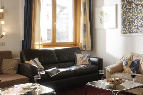 Living area Chalet Baren, St Anton