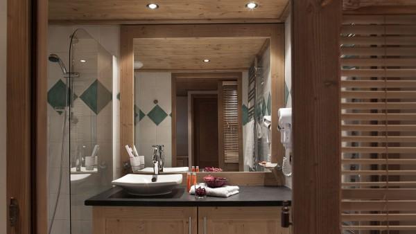 Bathroom in CGH Les Chalets de Jouvence