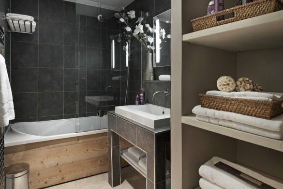 Bathroom in le chalet du forum - apartment in Courchevel, France