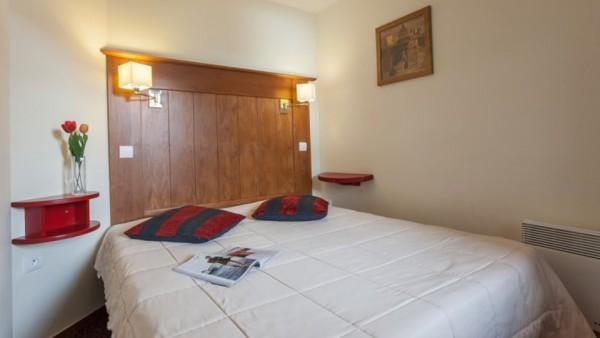 Bedroom, Residence Le Mont Soleil, La Plagne, France