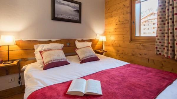 Bedroom, Residence Les Fermes du Soleil, Flaine, France