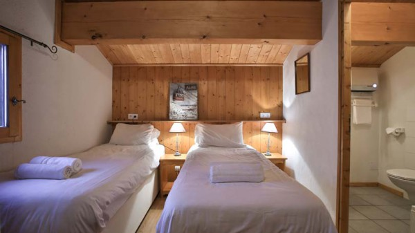 Bedroom, Chalet Joly, La Plagne, France