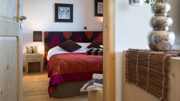 Bedroom, Le Lodge Hemera - Ski Apartments in La Rosiere, France