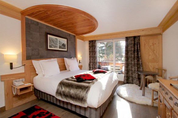 Bedroom in Chalet Pascale - ski chalet in Les Arcs - Peisey, France
